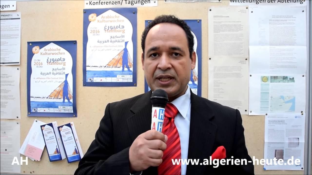 12. Arabischen Kulturwochen 2016: Organisator Dr. Khalifa zu Algerien Heute0