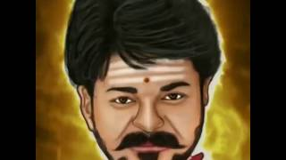 Vidéo virale   Mersal Cartoon clip pour thalapathi Fans   Vijay   atlee   AR Rahman