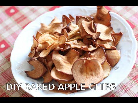DIY Baked Apple Chips