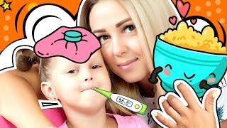 Малыш на диете Малыш Игроман и Амелька Кашляет Лучшие серии с Амелькой Карамелькой Видео для детей