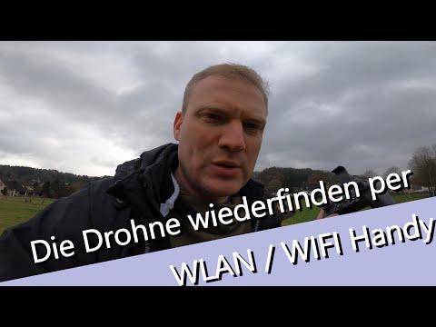 Wlan -WIFI Drohne Ohne GPS Wieder Finden - Mit Jedem Wlan Fähigem Smartphone