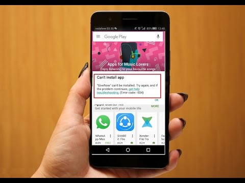 How to Fix Can't Install App Error in Android Phone & Tablet