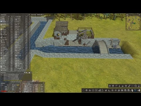 Banished: Curse Of The Medieval Fountain Part 11 - Canal Building 101