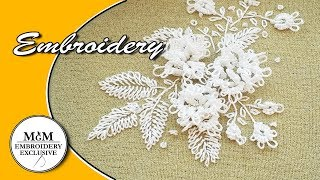 EMBROIDERY:Needle Tatting For Beginners   ВЫШИВКА:ФРИВОЛИТЕ ИГЛОЙ