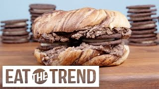 How to Make an Oreo Bagel | Eat the Trend