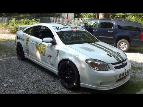 Chevy Cobalt Race car - closeup look