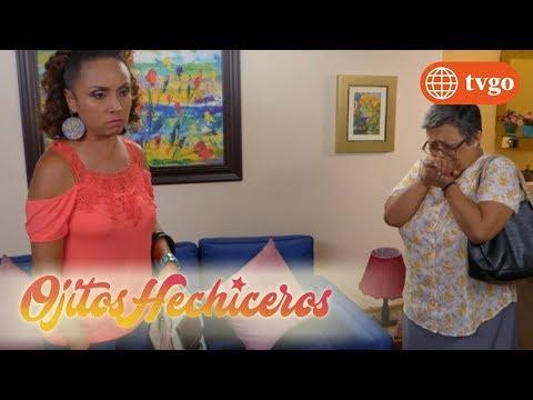 ¡Clarissa casi atrapa a Wanda y a Doña América en su casa! - Ojitos hechiceros 09/04/2018