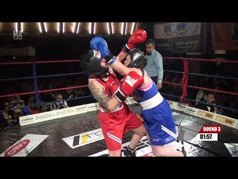 Corporate Boxing 11th Nov 2017 - Kayleigh Fox Vs Beth Moore