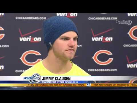 Clausen excited for 1st start in four years