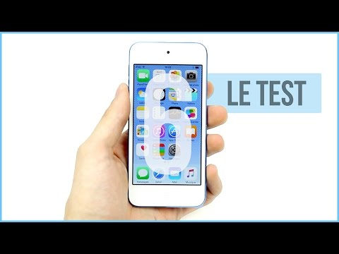 Apple iPod touch 6G : Le test complet en français