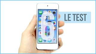 Apple iPod touch 6G : Le test complet en français