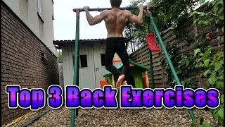 Top 3 Bodyweight Back Exercises
