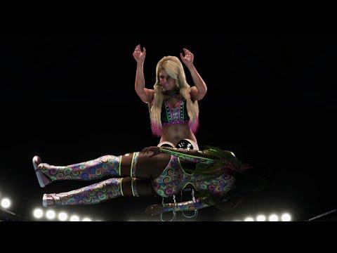 WWE 2K20 - ALEXA BLISS VS NAOMI [MITB QUALIFYING MATCH]   SmackDown  