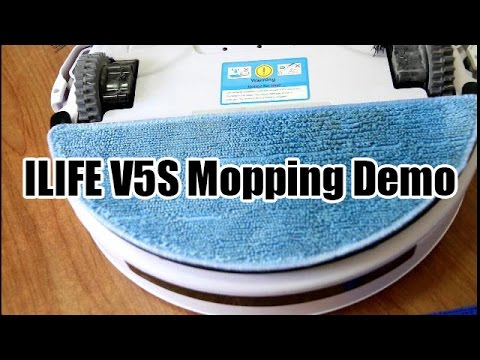 Chuwi ILIFE V5S (or V5 Pro) Mopping Demo