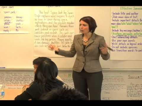 Summarization 3 Interactive Writing