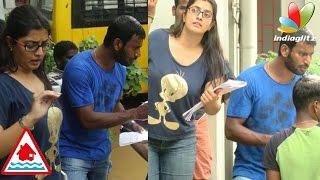 Varalakshmi Joins to Vishal in Chennai Flood Relief
