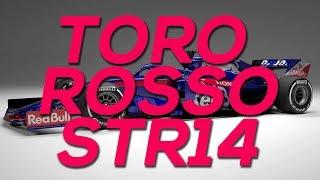 Toro Rosso presenta su nuevo STR14 para 2019 | SoyMotor.com