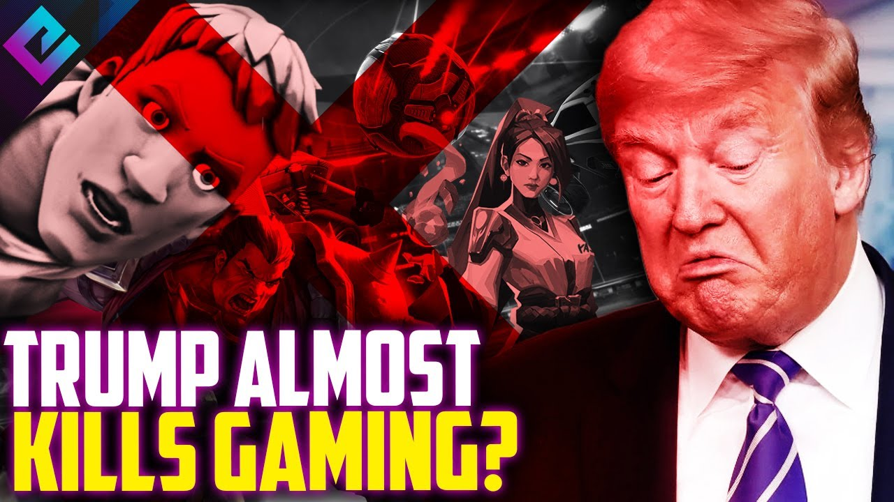 President Trump Nearly Ends Gaming and Tencent