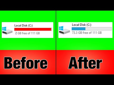 How to Clean C Drive in Windows 10   Make Your PC Faster   Hindi   By Aayush Technical