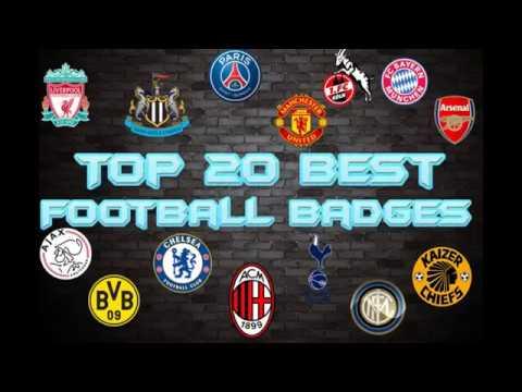 Top 20 Best Football Club Badges