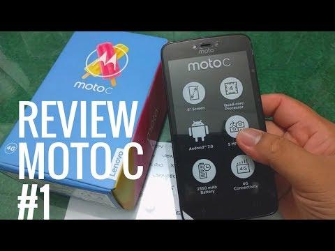 Review Lenovo Motorola Moto C Bahasa Indonesia #1
