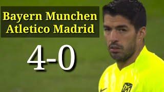 Bayern Munchen vs Atletico Madrid 4-0 All Goals extended highlight 2020