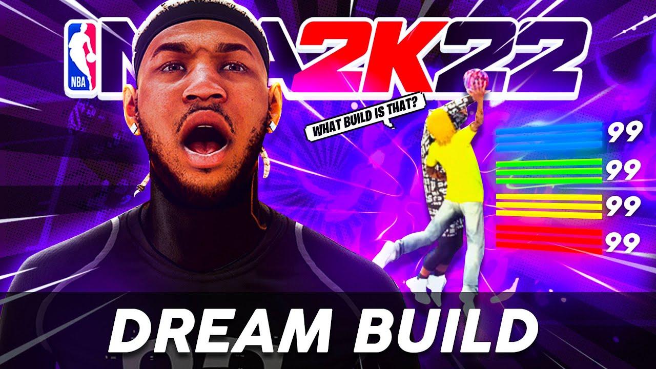 NBA 2K21 but I used my 2K22 DREAM Build