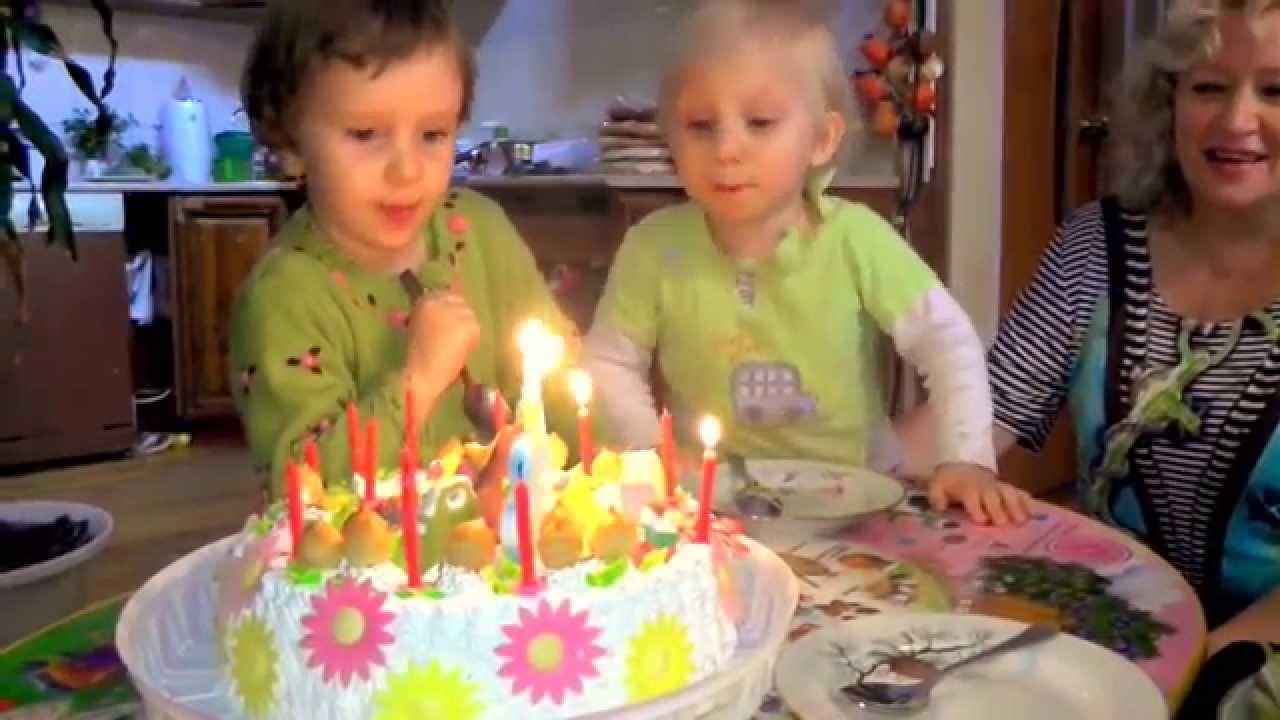 Ден� Рождения Диан� и Над��ки То�� и �ве�и youtube