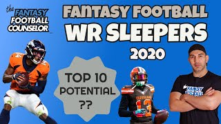 Fantasy Football WR Sleepers - Top 10 Potential
