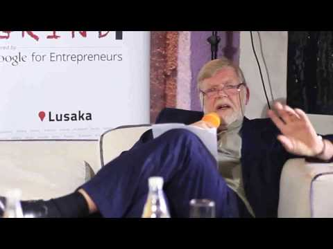 Lars Stork (Vodafone Zambia and COO of the Vodafone-Afrimax) GroupStartup Grind Lusaka