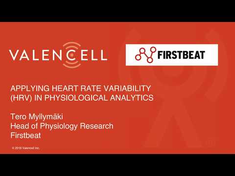 Firstbeat -Transforming heart rate variability (HRV) into personal insights