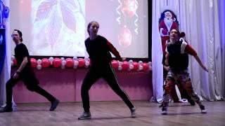 СШ 111 г Минск концерт 08 12 2018 танец Флешмоб