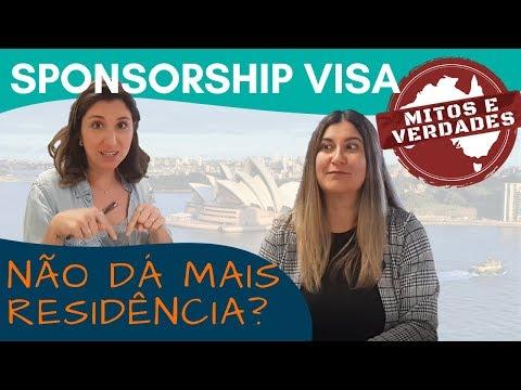 Como funciona o SPONSORSHIP VISA na AUSTRÁLIA? | Mitos e Verdades - Vamos Fugir Blog