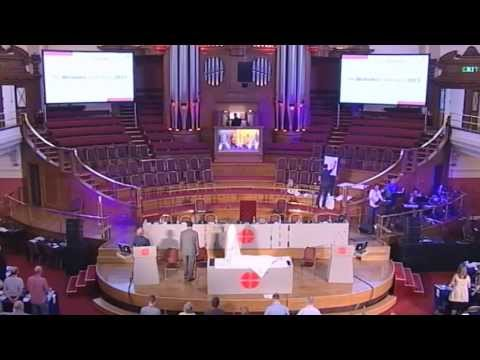 Wednesday Holy Communion at Methodist Conference 2013