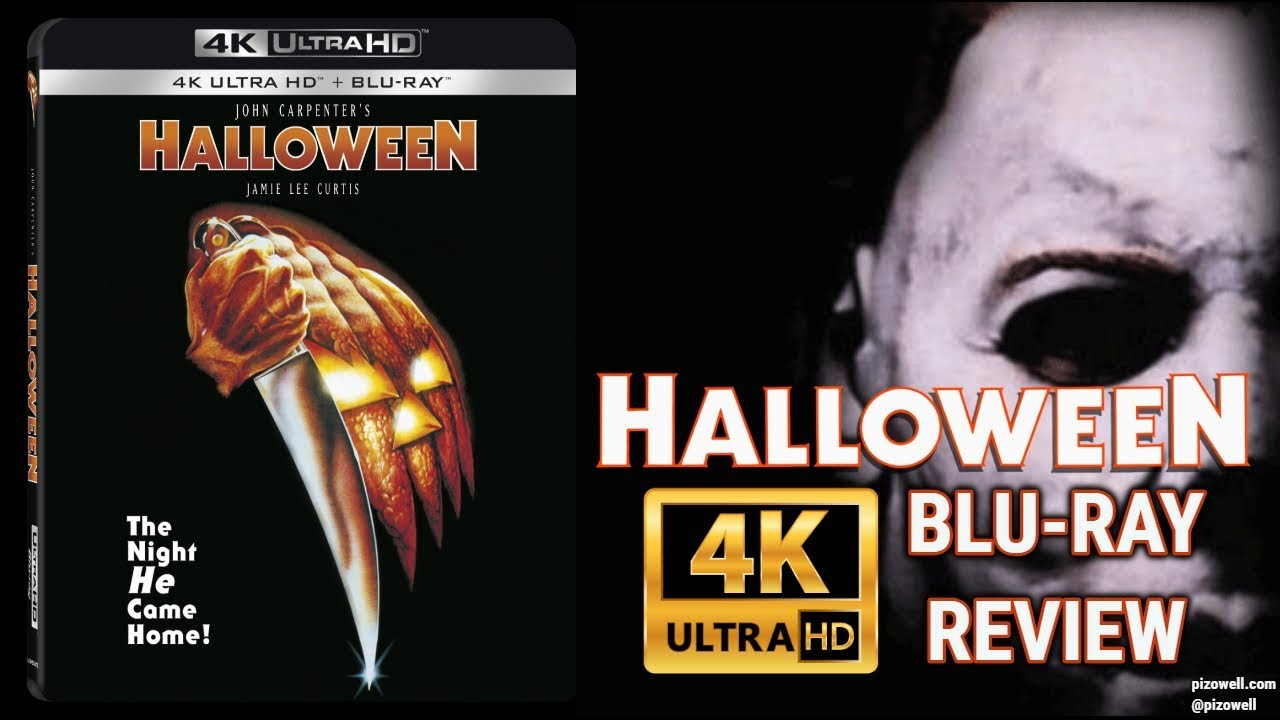 Halloween 1978 Movie Poster.Halloween 1978 4k Blu Ray Review