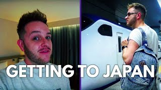 🇯🇵GETTING TO JAPAN! 🇯🇵| Japan Vlog #1