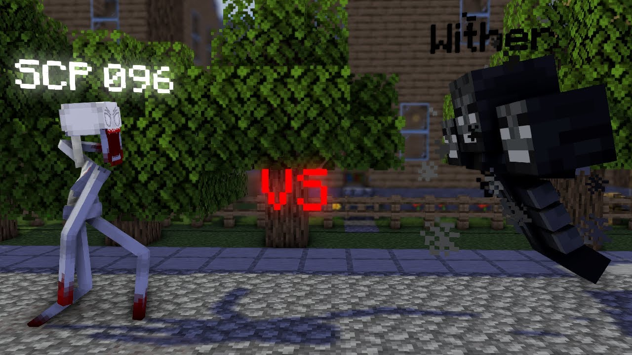 SCP 096 vs Wither (Made by Battle Foundation)