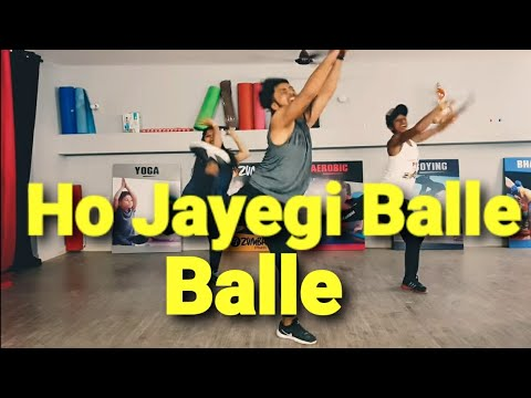 Ho Jayegi Balle Balle | Daler Mehndi | zumba dance fitness workout by amit