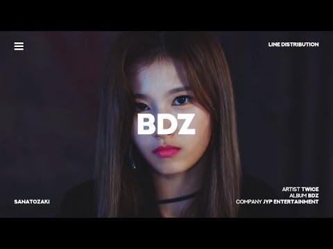 TWICE (트와이스) - BDZ | Line Distribution