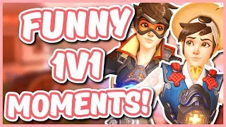 Overwatch - THE 1V1 MYSTERY DUEL MASTER (Funny Moments)
