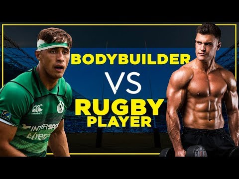 Pro Rugby Player And Bodybuilder Swap Routines | Greg O'Shea vs Rob Lipsett