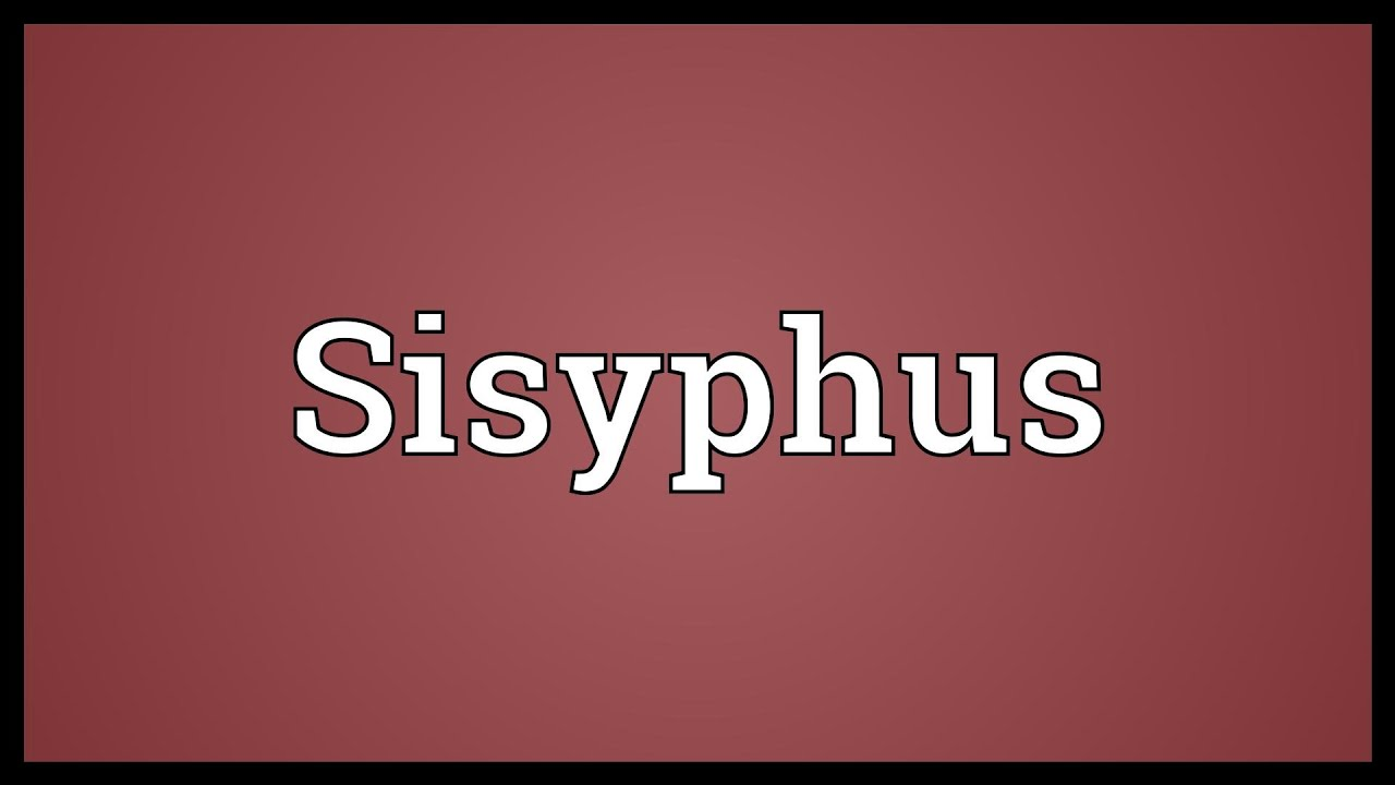 Sisyphean work: the meaning and origin of the ancient idiom 70