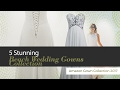 5 Stunning Beach Wedding Gowns Collection Amazon Gown Collection 2017