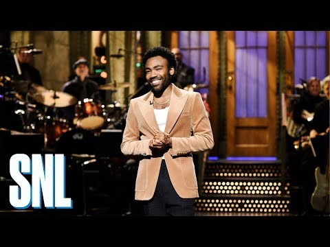 Donald Glover Monologue - SNL