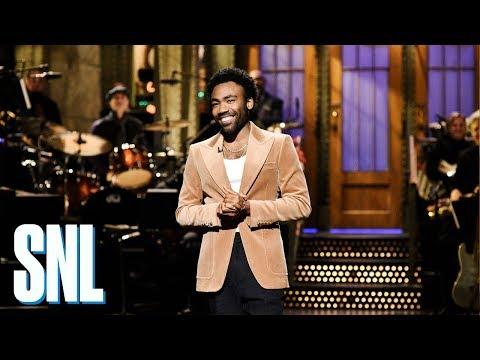 Donald Glover Monologue  SNL