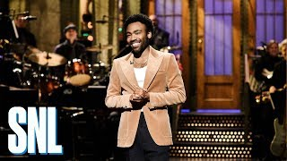 donald glover monologue snl