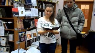 Василь Стус.Читаємо вірші в бібліотеці.