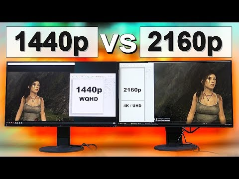 1440p vs 4K (2160p) Monitor -- What To Look Out For! - YouTube