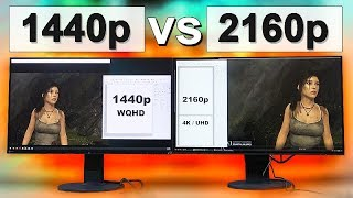1440p vs 4K (2160p) Monitor -- What To Look Out For!