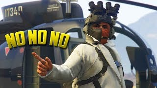 A Player's Attempt At Killing Me Goes Downhill - GTA Online